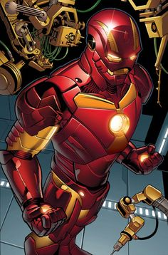 IRON MAN #5 First Look Debuts New Armor