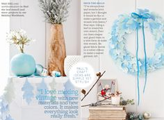 BHG: A Woodland-Inspired Blue Christmas - Bright.Bazaar