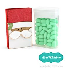 Check out what's coming this week! Aren't these the cutest TicTac's® ever! What a fun way to package a little gift this holiday season! Watch for the cutting files THIS WEEK in my Silhouette Online...