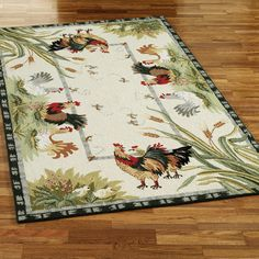 16 Best Rugs Images Roosters Rugs Country Rugs