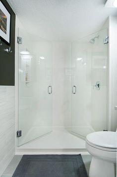 12 best before after bathroom remodels images shower remodel rh pinterest com
