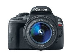 Canon EOS Rebel SL1 18.0 MP CMOS Digital SLR with 18-55mm EF-S IS STM Lens    A Great Gift Idea For Father's Day!