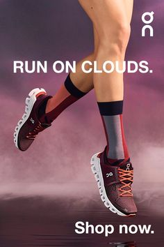 Born in the Swiss Alps, On running shoes feature the first patented cushioning system which is activated only when you need it - during the landing. Sneakers Mode, Sneakers Fashion, Fashion Shoes, High Heel Boots, Shoe Boots, High Heels, Zumba, Athleisure, Running For Beginners