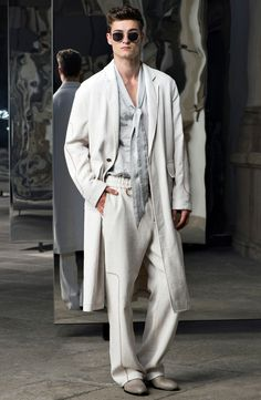 Trussardi Spring 2017 Menswear Collection Photos - Vogue Art and Ideas Shared :  More At FOSTERGINGER @ Pinterest