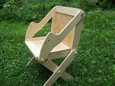 I recently built a chair similar to this one. I love it!