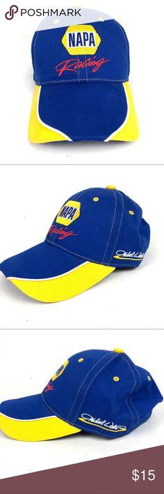 NAPA Racing Michael Waltrip NASCAR Hat Cap New without tags. Unworn. NAPA Accessories  Hats d3b05aaaa864