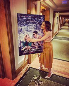 Last Christmas Movie Source Daenerys Targaryen, Khaleesi, Michelle Yeoh, Emma Thompson, Emilia Clarke Last Christmas, Last Christmas Movie, Kit And Emilia, Game Of Thrones, Acacia Clark