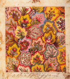 robincharlotte:  Textile design, factory of Jean-Michel Haussmann, Colmar, 1797