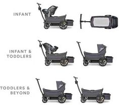 Veer Cruiser Stroller-Wagon Hybrid Go All-Terrain you and your kids with this awesome wagon that transforms into a stroller. Stroller Board, Convertible Stroller, Baby Kids, Baby Boy, Baby Checklist, Car Travel, Baby Hacks, Baby Registry, Baby Gear