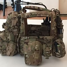 """At a photo shoot. First look at a new loadout for our DCS plate carrier.... The """"Fully Loaded"""". #ws #DCS"""