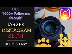 [MUST SEE] Jarvee Setup - Get 1000+ Instagram Followers A Month Automati... 1000 Followers, Instagram
