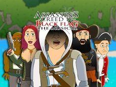 ♪ ASSASSIN'S CREED 4 THE MUSICAL - ACIV Black Flag Parody - YouTube