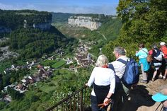 2015 Photos from the guided walking holiday in the Jura, a region with historic villages and great wine Walking Holiday, Beaux Villages, Medieval Town, Holiday Photos, Alps, France, Grand Canyon, Dolores Park, Waterfall