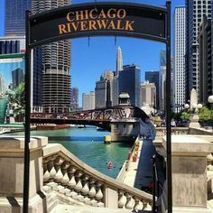 "See 3016 photos and 132 tips from 18145 visitors to Chicago Riverwalk. ""The restaurants along the riverwalk in the summer are the best! Visit Chicago, Chicago Usa, Chicago City, Chicago Illinois, Chicago Trip, Chicago Must See, Navy Pier Chicago, Chicago Girls, Milwaukee City"