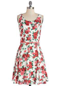 Beloved Botanicals Dress | Mod Retro Vintage Dresses | ModCloth.com