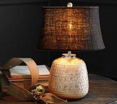 Ella Mercury Lamp Base #potterybarn