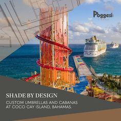 A summer escape to celebrate PERFECT DAY is open beautifully sh. A summer escape Outdoor Umbrellas, Shade Umbrellas, Outdoor Living, Outdoor Decor, Patio Design, Luxury Life, Restaurant Design, Shades, Island