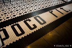IMG_4986-poco-rit Hexagon Quilt, Front Entry, Tile Ideas, Lettering Design, Writings, Laundry Room, Floors, Tile Floor, Tiles