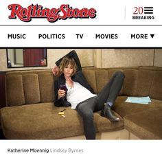 This is what happens when @lindseybyrnes comes to visit #raydonovan. #rollingstone http://www.rollingstone.com/tv/pictures/katherine-moennigs-behind-the-scenes-tour-of-ray-donovan-20150804