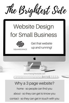 Get that website up and running! A website will let people know where to find you, exactly what you have to offer and how to get in touch with you. Look on The Brightest Side to get a new Squarespace website! Home Based Business, Online Business, Midlife Career Change, Blog Writing Tips, Virtual Assistant Jobs, Online Entrepreneur, Up And Running, Work From Home Moms, Touch