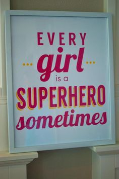 Girly Superhero Party via Kara's Party Ideas