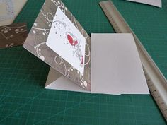 Scrap' pages: carte chevalet Container, Cards, Folded Cards, Group, Maps
