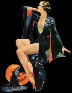 1936 (Halloween pin-up)