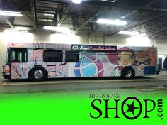 CITY BUSES! Here we wrapped some city buses a while ago! Graphics are so cool, and we proud to do the job! ;)