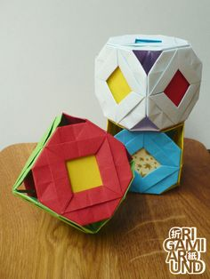 origami magic rose cube pdf