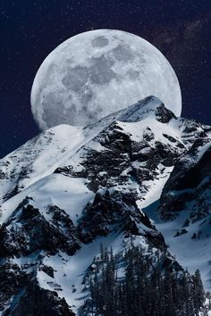 New post on fenrir-howls Beautiful Nature Pictures, Beautiful Moon, Beautiful Landscapes, Beautiful World, Beautiful Places, Winter Pictures, Cool Pictures, Ouray Colorado, Shoot The Moon