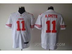 http://www.jordanaj.com/nike-nfl-san-francisco-49ers-11-with-asmith-white-elite-jerseys.html NIKE NFL SAN FRANCISCO 49ERS #11 WITH A.SMITH WHITE ELITE JERSEYS Only $23.00 , Free Shipping!