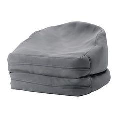 BUSSAN Sitzsack drinnen/draußen IKEA Vielseitig benutzbarer Sitzsack - gefaltet ein gemütlicher Sessel, ausgebreitet ein bequemer Liegestuhl.
