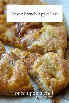 Apple Cake Recipes, Tart Recipes, Sweet Recipes, Apple Tart Recipe Easy, Brunch Recipes With Apples, French Tart Crust Recipe, Desserts With Apples, Apple Crostata Recipe, Apple Fritter Recipes