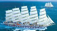 The Royal Clipper sails into harbors around the world like a beautiful woman entering a salon confident that all eyes will be on her, serene in the knowledge that she is valued for what she has to give.