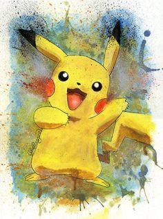 Pikachu by Luke Fielding
