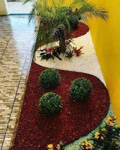 24 beautiful side yard and backyard gravel garden design ideas 21