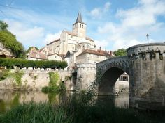 Montmorillon, France - near Poitiers