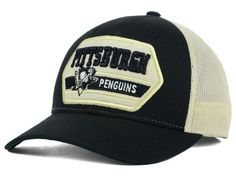Pittsburgh Penguins CCM Hockey NHL Patched Trucker Cap Hats