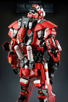 """1/6 Scale MSH 06 """"The Humansize"""" - Custom Build (GBWC 2014 Entry)     Modeled by Piya Numwa Yatoorman Teppatipat     Facebook: https://www..."""