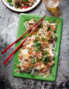 Kin Khao's Recipe for Burnt Eggplant With Toasted Coconut and Herbs