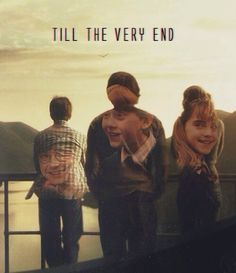 Day Best Friends at Hogwarts: Harry, Ron and Hermione. I think I'd also be friends with Ginny, Neville, and Luna Harry James Potter, Wiki Harry Potter, Harry Potter Welt, Mundo Harry Potter, Harry Potter Pictures, Harry Potter Quotes, Harry Potter Fandom, Harry Potter Ending, Hp Quotes