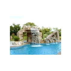 pool ❤ liked on Polyvore featuring house, rooms, home, pools and pictures