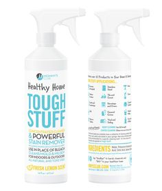 Tough Stuff All-Natural, Organic and ToxicFree Formulated Replacements for Personal Care, Body Health and Home Cleaning Products by Mommy's Club