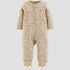 8a9e3e3cccc5e0 Baby Boys  Fox Sleep  N Play - Just One You® made by carter s Heather Brown  Newborn   Target