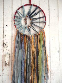 El cazador de sueños bohemios seda Vintage 12 por 1770mercantile