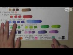 """Which Copic Colors to Start Out With?? (""""The Incomplete Copic Guide"""" Part 2) - YouTube"""