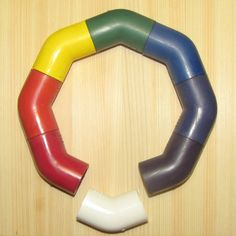 Make: Projects - Permanently stain PVC pipe any color you want