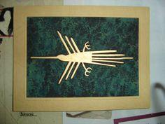 Tarjetas tipo cuadro Lineas de Nazca Peru