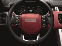 Experience ultimate driver control in a #RangeRoverSport equipped with Gear Paddle Selectors.