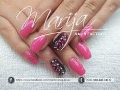 pink by marija7 - Nail Art Gallery nailartgallery.nailsmag.com by Nails Magazine www.nailsmag.com #nailart